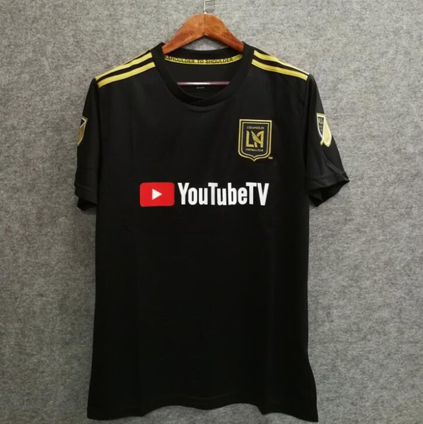 Free ship 2018 LA Carlos Vela Soccer Jerseys 18/19 Home GABER ROSSI CIMAN ZIMMERMAN home TOP Quality Football Shirt Los Angeles