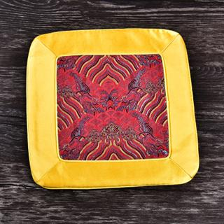 yellow red 25x25 cm