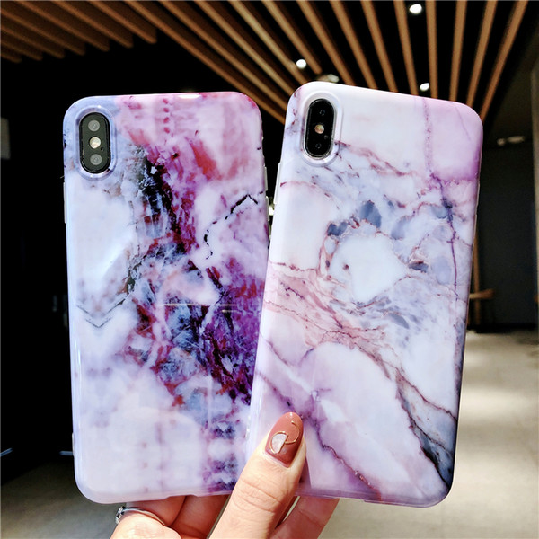 check out 526fd bc2be New Arrival Marble Design Thick TPU Soft Phone Case For IPhone X XS Max XR  6 6S 7 8 Plus Cell Phones Covers Design Cell Phone Case From Saywant, ...