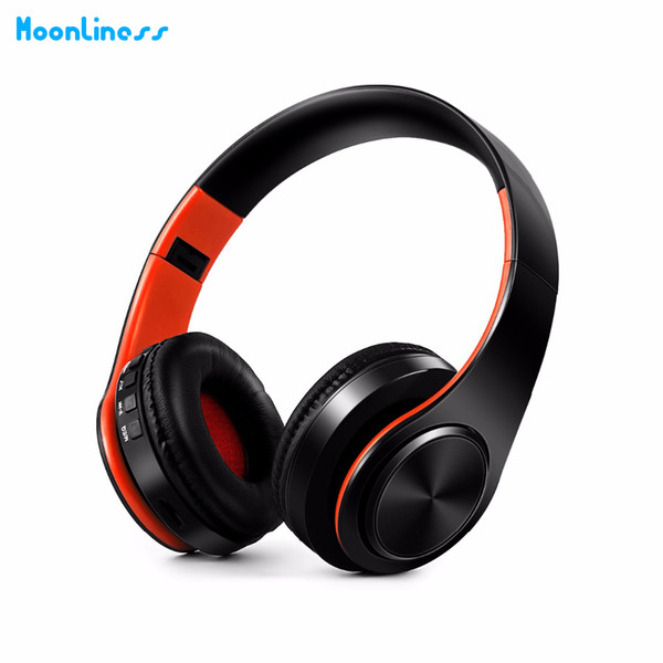 NBY Bluetooth Headphones Wireless Headsets Stereo Foldable Earphones with Fm Headset music Mic for Handfree Mp3 Player
