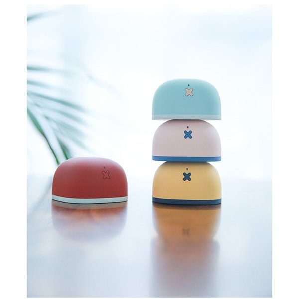 2018 trendy cute Bluetooth subwoofer speaker mini portable wireless creative gift mobile phone self-timer audio baby-like texture high quali