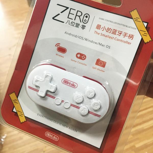8Bitdo Zero Mini Wireless Bluetooth Game Controller Gamepad Joystick Kamera Selfie Auslöser Fernbedienung Original Freies Verschiffen
