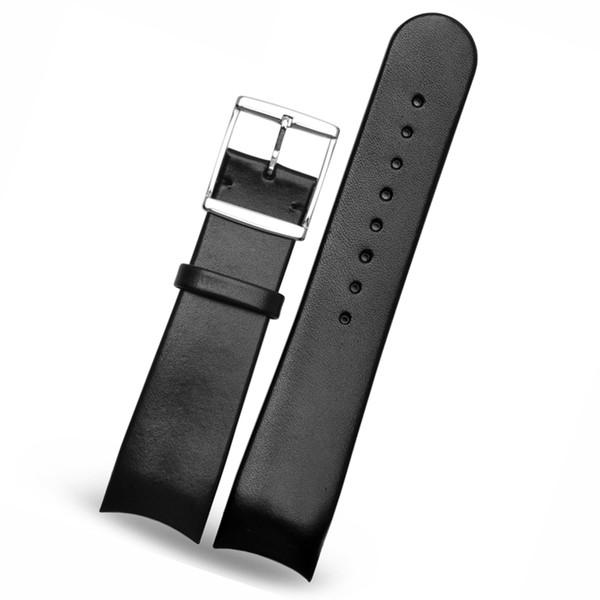 22mm Véritable Bracelet En Cuir montre bracelets Fit marque K22411 K22461 K22411 Livraison gratuite