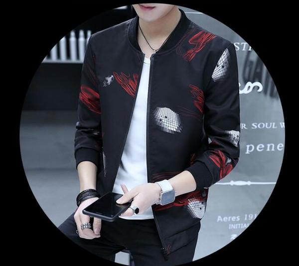 NICBUY Men's coats 2018 new Korean casual trend handsome jacket men's wear thin style casual clothes