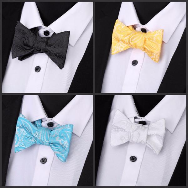 Novelty Mens Unique Tuxedo Bowtie Bow Tie Necktie Best Selling 30 Colors New High Quality