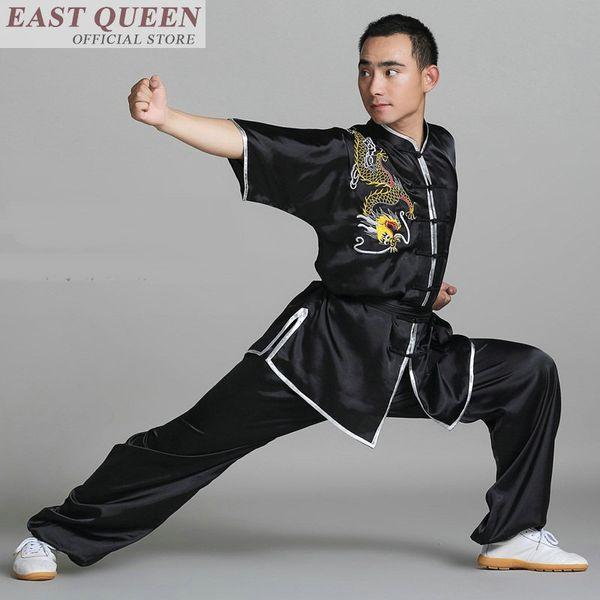 Wing chun abbigliamento uomo wushu abbigliamento tradizionale cinese camicia kung fu orientale mens FF515