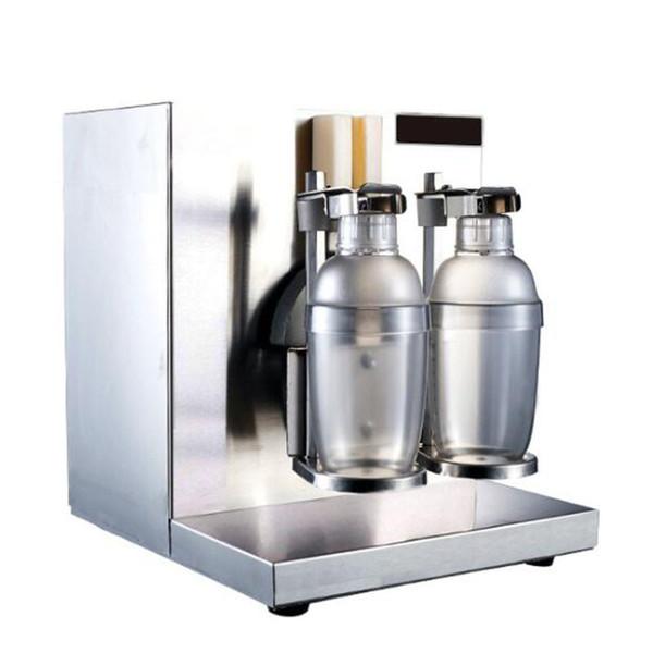 Beijamei doppia testa elettrico Milk Tea Shaker Blender macchina 110V 220V bere succo macchina milk shake shaker