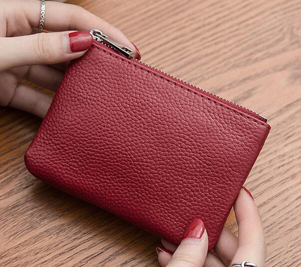New designer Tote wallet High Quality Leather Men short Wallets for women Men Coin purse Clutch Bags with box
