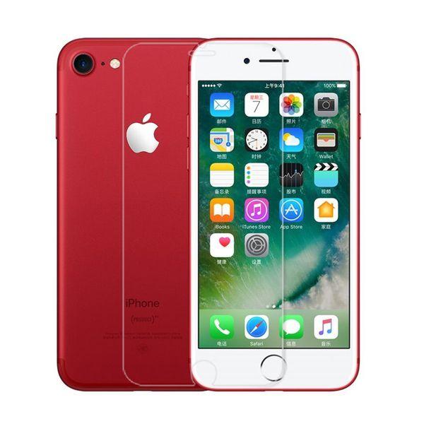 Vetro temperato per iPhone SE 5 5S 6 S Pellicola salvaschermo per iPhone 7 Plus Pellicola protettiva per vetro 4 4S