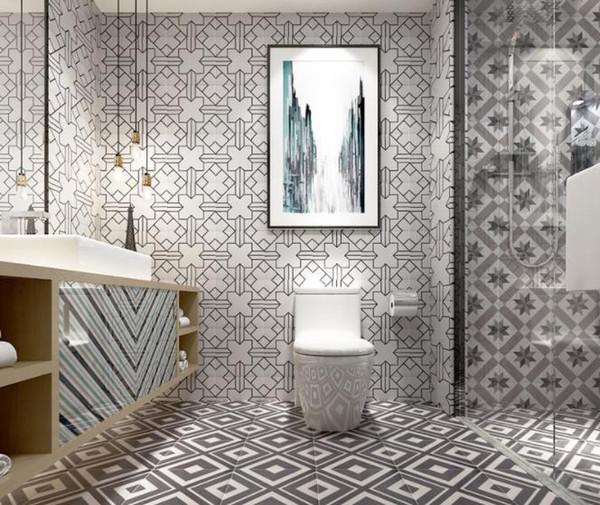 Großhandel Moderne Fliesen Wohnzimmer Wand Badezimmer Fliesen 200X200  Bodenfliesen Von Sophychx, $1009.05 Auf De.Dhgate.Com | Dhgate