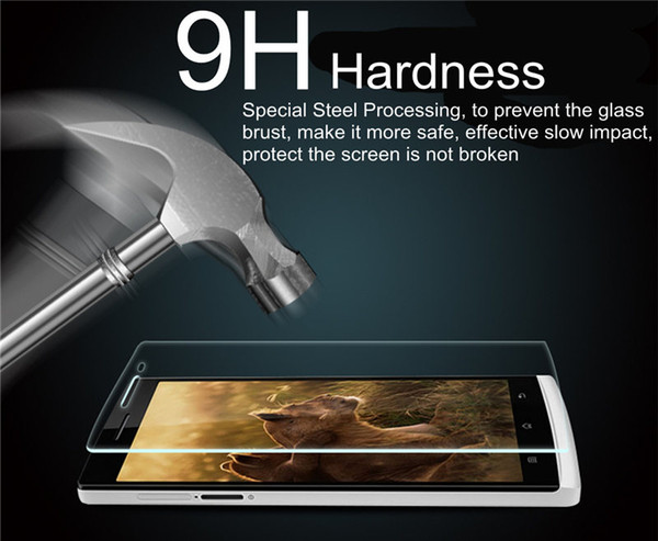 For Homtom ht3 ht7 ht16 ht17 Oukitel C4 K10000 Front Screen Protector High Quality Hardness Toughened Glass Film