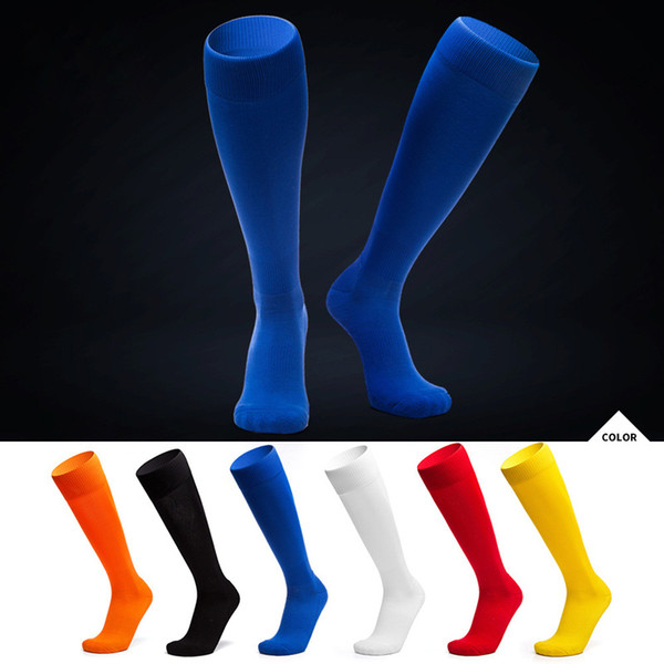 High Quality Football Soccer Socks Men Kids Boys Sports Long Towel Training Socks Basketball Cycling Thicken sox medias de futbol Non-slip