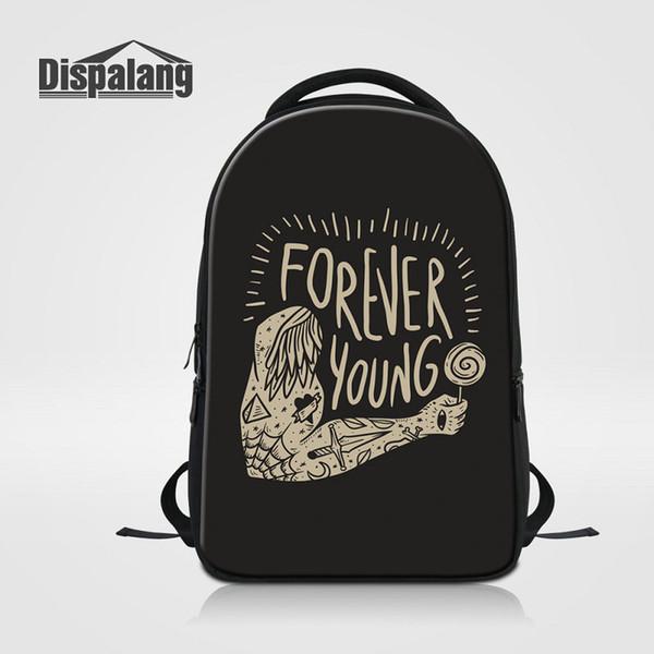 3D Printing School Backpack For Teenage Girls Boys Women's Travel Shoulder Bags Personality Custom Design Mochila For Laptop Bag Pack Rugzak