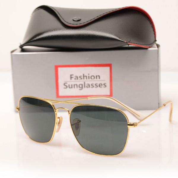 Gold Frame gray Lens