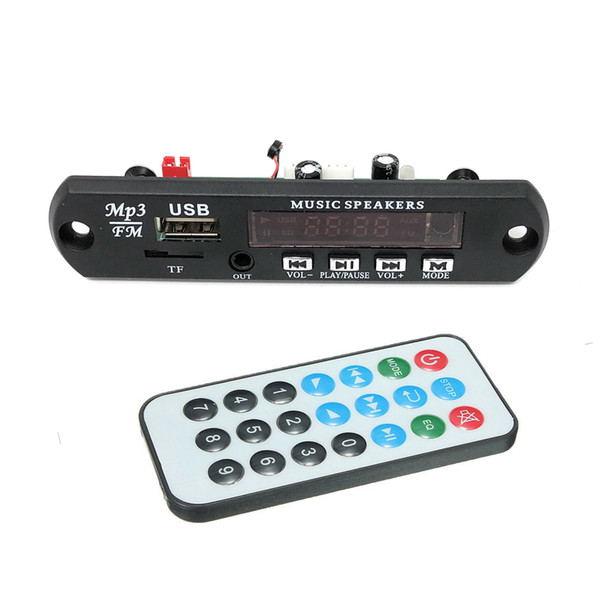 DC 5 V / 9-12 V Universal Auto Lkw Audio Drahtlose USB FM TF SD MP3 WMA APE FLAC Bluetooth 4,2 Decoder Board Modul
