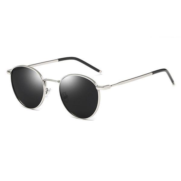 Momo 5512 mujeres coreanas marco circular gafas de sol polarizadas gafas de sol de tendencia retro mujeres Tmall venta caliente taobao Hipster necesario