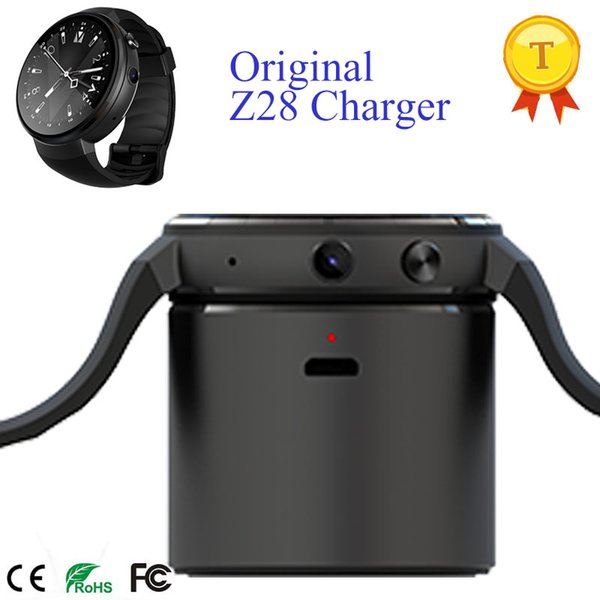 Original hot selling Z28 smart watch chargering dock accessory backup power bank 4pin charger