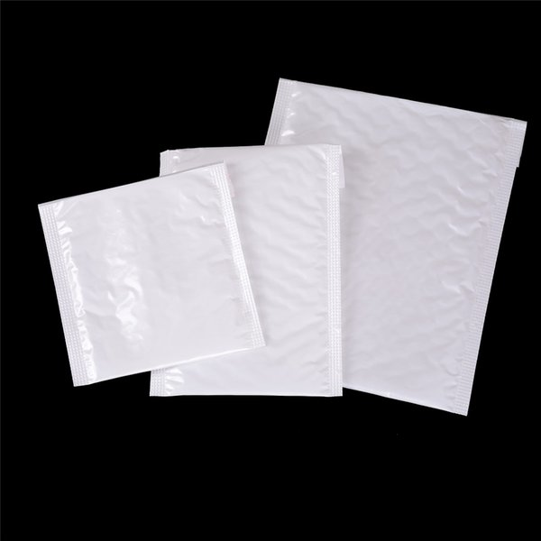 10Pcs Blank White Bubble Mailers Padded Envelopes Multi-function Packaging Material Shipping Bags Bubble Mailing Bags