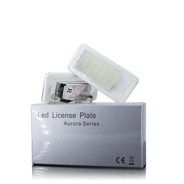 LED CANBUS No Error Kennzeichenbeleuchtung Glühbirne Für Audi A3 S3 Cabriolet A4 S4 B6 B7 (8E.8H) AUTO Kennzeichenbeleuchtung Nein Hyper Flash