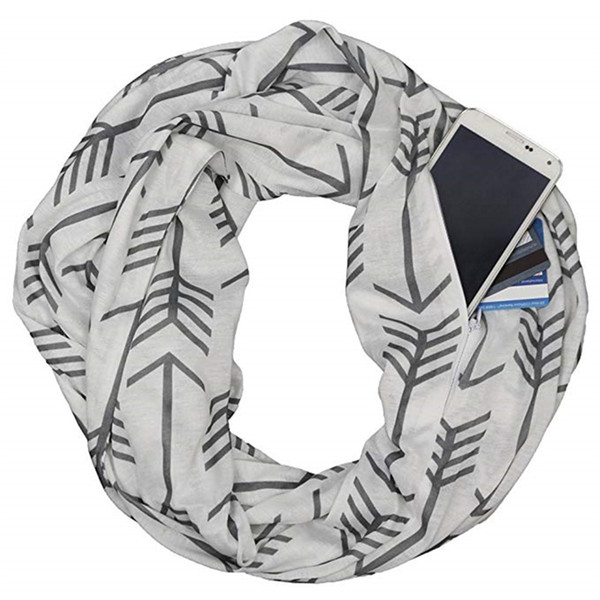 Compre Moda Mujer Bufandas De Invierno Térmica Bufanda Infinito ...