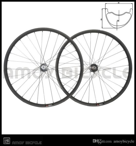 Smoothfast ileri karbon mtb wheelset crossmax 29er AM asimetrik 35 * 25mm enduro yarış için bisiklet tekerlekleri ofset jantlar