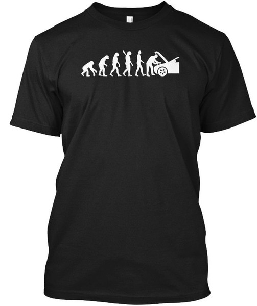 Эволюция Механик Смешные Разных Автомобилей Хейнс Без Тегов Тройник T-Рубашка