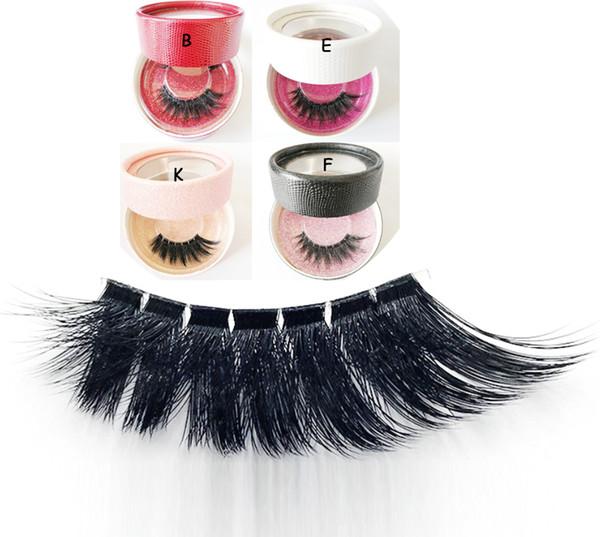 Private label 3D faux mink Lashes 3D Lashes Eyelashes thick Soft Silk Thick Long Lash False eyeLashes Handmade Eyelash Extension Makeup