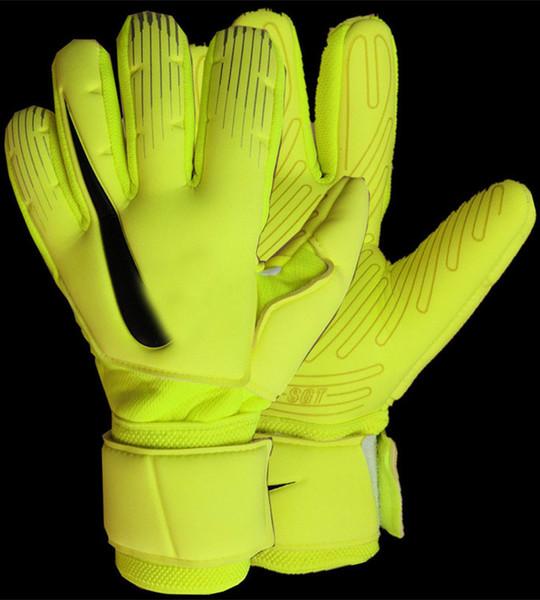 best selling Wholesale 2019 Brand NK SGT Thicken 5mm Latex Soccer Goalkeeper Gloves Goalie Football Bola De Futebol Goal Keeper Gloves