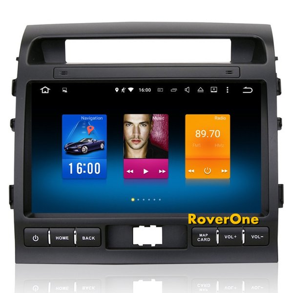 RoverOne para Toyota Land Cruiser LC200 HD 1080p Android Stereo 8,0 Autoradio Radio Car GPS Navigation Unidade Multimedia Media System cabeça