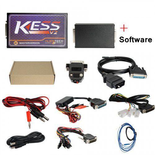 2018 Date KESS V2 V2.35 FW V4.036 Kit de réglage OBD2 sans limitation de jeton Aucune erreur de somme de contrôle Meilleure qualité KESS