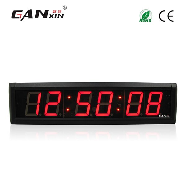 [Ganxin]2.3'' 6 Digits LED display digital Clock Countdown/Count up stopwatch Timer with remote control