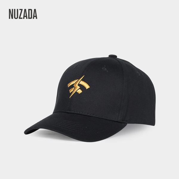 Nuzada new outdoor men's baseball cap Korean embroidered hat ladies cotton dome cap