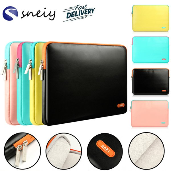 """Laptop Sleeve 13.3 Inch 15.4-Inch for MacBook Air Pro Retina Display 12.9"""" iPad Cover Bag for Apple Samsung Notebook Sleeve"""