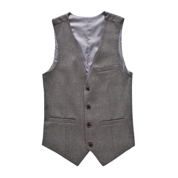 M-6XL Fashion Men's Vests New Style Solid Slim Fit Vest Mens Clothes Trend Casual Business Mens Suit Vests Gentleman Social Vest