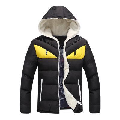 Новый бренд мужские зимние куртки и пальто мода с капюшоном мужская куртка причинно теплые пальто для мужчин толстые пальто хлопок мягкий