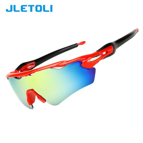 JLETOLI UV400 Men Bicycle Sunglasses Men Women Road Cycling Glasses Mountain Bike Eyewear Protection Goggles HD Lens