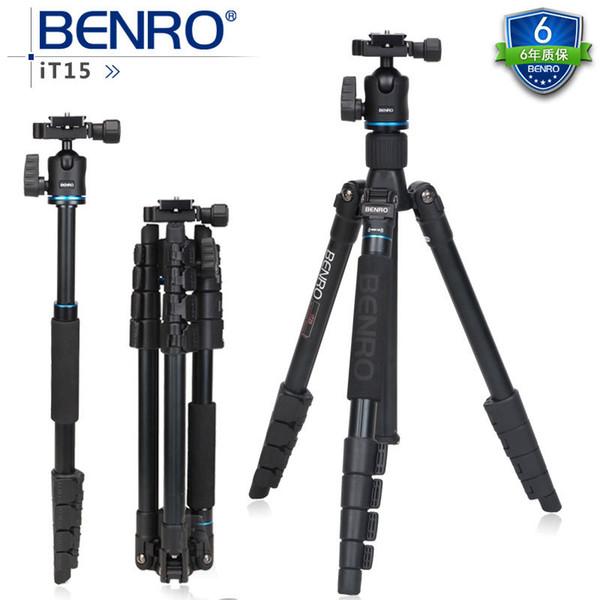 FREIES VERSCHIFFEN BENRO IT15 Berufsmultifunktionsaluminiumlegierung-beweglicher Stativ Einbeinstativ für DSLR Kamera-Kamerarecordergroßverkauf