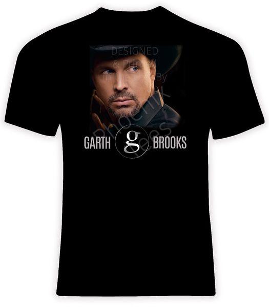Garth Brooks t-shirt, tailles S-6X, T-shirt manches courtes / longues 100% coton Tee-shirt à manches courtes pour hommes