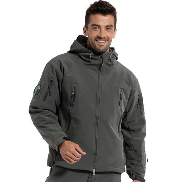 Brand Jacket V5 .0 Military Tactical Men Jacket Lurker Shark Skin Soft Shell Waterproof Windproof Men Windbreaker Jacket Coat