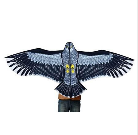 Nuevos juguetes 1.8m Power Brand Huge Eagle Kite con cuerdas y mangos Novedad Toy Kites Eagles Large Flying For Gift