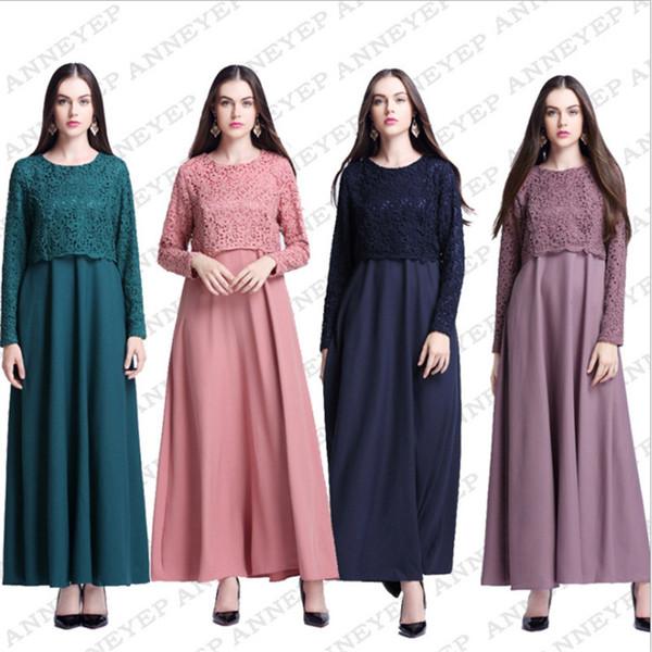 3e2884aaf3ef Muslim Fashion Turkish Islamic Clothing Abaya Dubai Jewish Chiffon Muslim  Dress Kaftan Abayas For Women Kimono