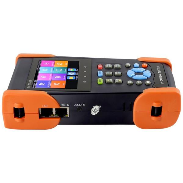 3.5 Inch 3 in 1 H.265 4K/H.264 IP 8MP CVI CVBS Analog CCTV Camera Tester Monitor Rapid ONVIF TDR For RJ45 WIFI 48V PoE power output