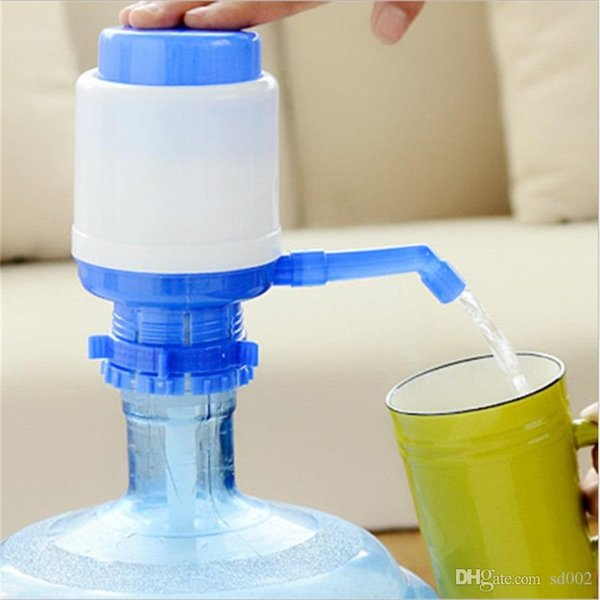 High Quality Manual Hand Press Drinking Water Bottle Creative Dispenser Pump Eco Friendly Portable Home Office Tools 5 5ra jj