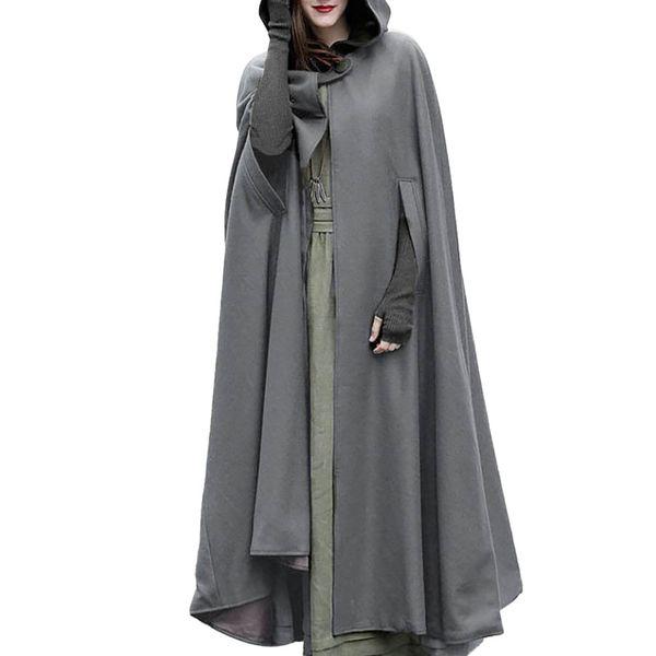 Women Coat Woman Coats Winter 2018 Women Trench Coat Open Front Cardigan Jacket Cape Cloak Poncho Plus Long Clothes