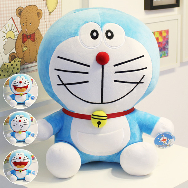 Hot Anime 25cm Stand By Me Doraemon Plush Toys CuteCat doll Soft Stuffed Animals Pillow Baby Toy For Kids Gifts Doraemon Figure