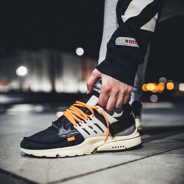 size 40 14b51 bcef8 Cheap Newest Arrivel The Ten Of White X Air Presto Virgil Abloh Men Women  Running Sneakers Of Outdoor White Aa3830 001 Sport Shoes 5.5 11 Running ...