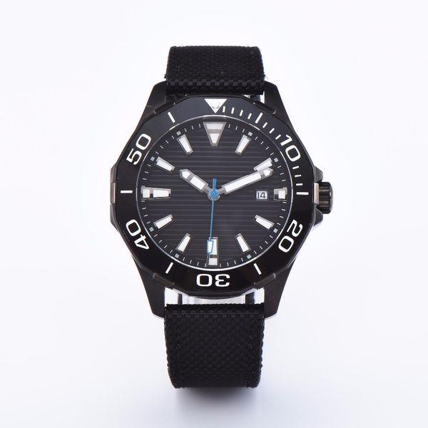 45mm Debert Sterile Rotating Dial Sapphire Crystal Bezel Luminous Date PVD Deluxe Miyota 8215 Automatic Movement Men's Watch C6