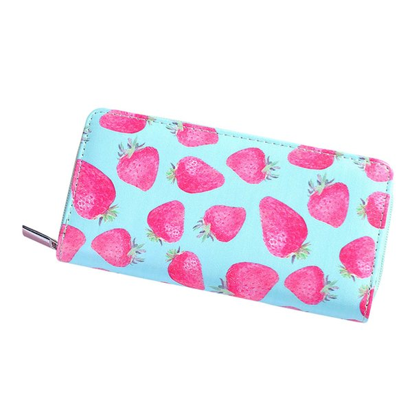 Women Long Purse PU Leather Cartoon Pattern Wallet Coin Pouch Lady Girl Clutch Money Bag Vogue
