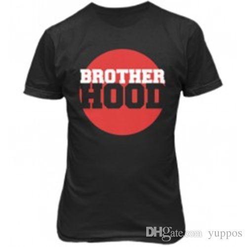 Imprimir T Shirts Impressão Curta MAGLIA MAGLIETTA T-SHIRT BROTHERHOOD UOMO 68 Anime Roupas Casuais