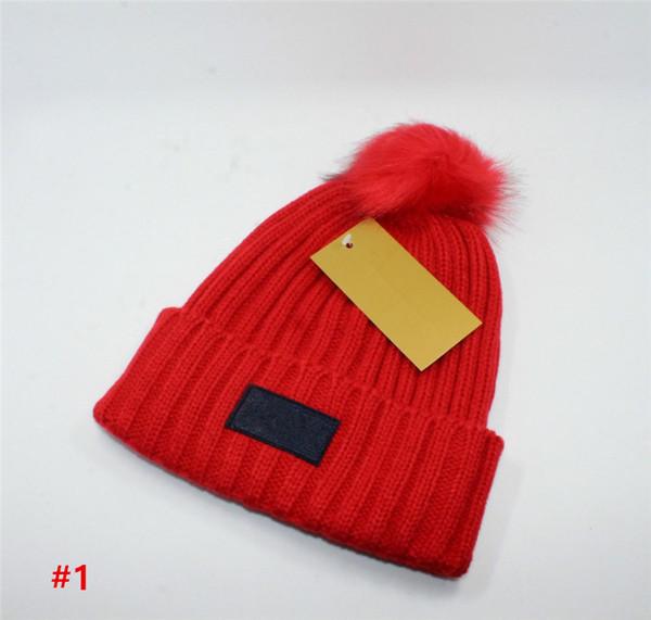 Hot Moda Designer De Marca Gorros Outono Inverno Homens e Mulheres Chapéus  de Luxo Adulto Criança 254ffeb154d
